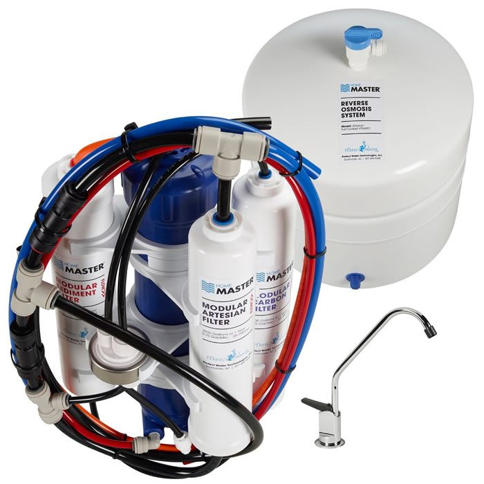 Home Master TMAFC Artesian Full Contact Reverse Osmosis Water Filter System