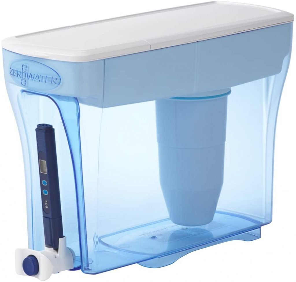 ZeroWater 23 Cup Dispenser with TDS Meter ZD-018