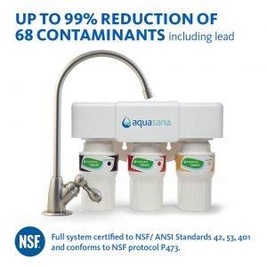 Aquasana AQ 5300 3-Stage Water Filter System
