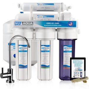 NU Aqua Platinum Series Deluxe 100GPD 5-Stage System