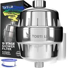 Torti Lia 15 Stage Shower Filter with Vitamin C For Hard Water